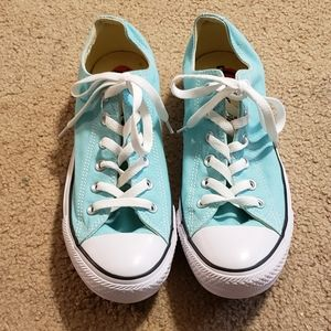 Converse All Star Turquoise Shoes New Size 10